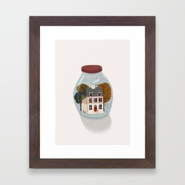 A perfect life Framed Art Print