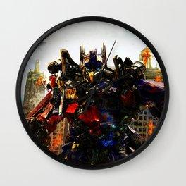 leader robot Wall Clock