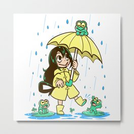 Best Frog Girl - Boku no hero Metal Print