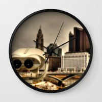 wall e Wall Clocks featuring Wall E? by BradBrunstetter