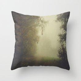 Unwritten poetry Throw Pillow