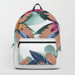 Feathery Flowers Backpack