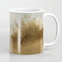 pixies Mugs featuring The Magical Oak Tree by Honey Malek