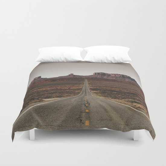 Run Forrest Duvet Cover