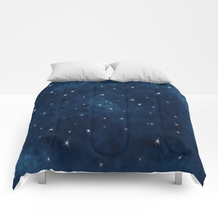 Whispers in the Galaxy Comforters