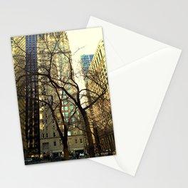 Tree versus Scraper #3 Stationery Cards
