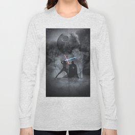Luke fighting against his father. Long Sleeve T-shirt