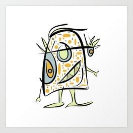 scribbleheads Art Print