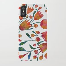 Buds and Flowers iPhone X Slim Case