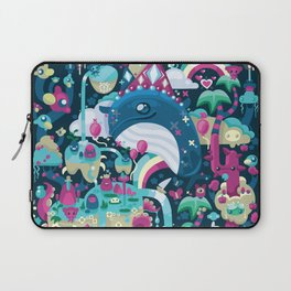 Only Whales Know Laptop Sleeve