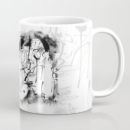 Free Your Spirit - b&w Coffee Mug