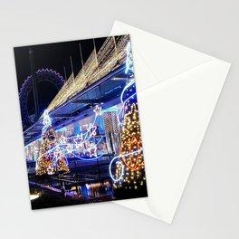 Holiday Christmas Christmas Lights Christmas Tree Stationery Cards