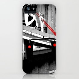 Stop the Freeway Overpass Scales Madness! iPhone Case