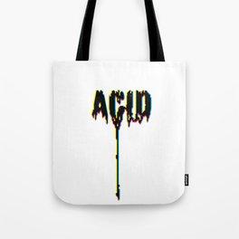 ACID DRIPS [CYMK] Tote Bag