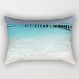 stunning mexican beach Rectangular Pillow