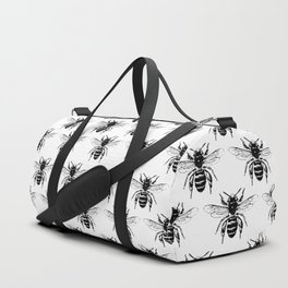 The Bee's Knees Black Duffle Bag