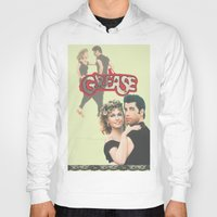 grease Hoodies featuring Grease  by Dora Birgis