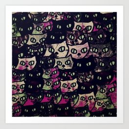 cats 14 Art Print