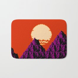 DEEP SUNSET Bath Mat