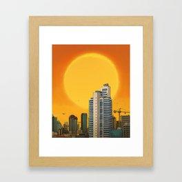 Maslak Framed Art Print