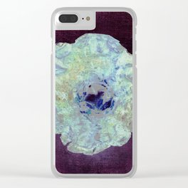 mystwrious flower Clear iPhone Case