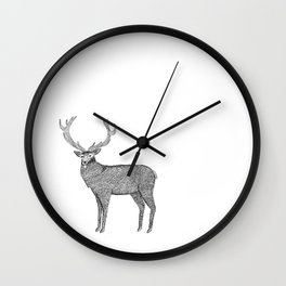 Deer Wall Clock