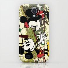 Mickey's Surprise for Minnie Galaxy S4 Slim Case