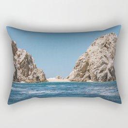 Lovers Beach Rectangular Pillow