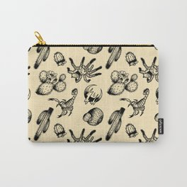 Nocturnal Desert Pattern Carry-All Pouch