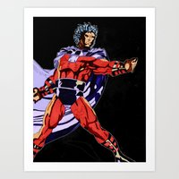 magneto Art Prints featuring Magneto by Joynisha Sumpter