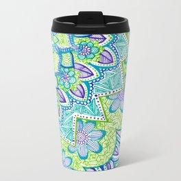 Sharpie Doodle 2 Metal Travel Mug