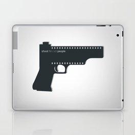 Shoot film not people Laptop & iPad Skin