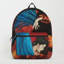 Spanish Flamenco Dancer Backpack
