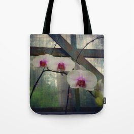 Hothouse Orchids Tote Bag