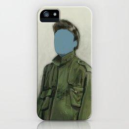 major blue iPhone Case