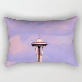 Seattle Space Needle Rectangular Pillow