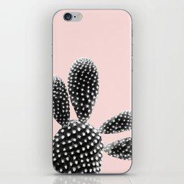 Black Blush Cactus Dream #1 #plant #decor #art #society6 iPhone Skin