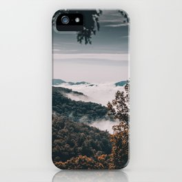 Cataloochee Valley iPhone Case