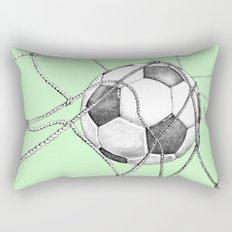 Goal in green Rectangular Pillow