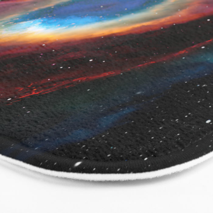 Helix (Eye of God) Nebula Bath Mat