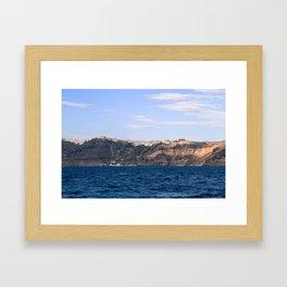Santorini, Greece 17 Framed Art Print
