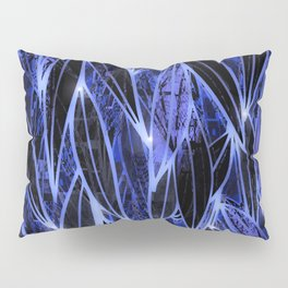 Blue Bamboo Night Print Pillow Sham