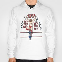 wwe Hoodies featuring Daniel Bryan (WWE) by RandallTrang