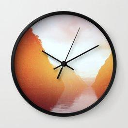Landscape 08 Wall Clock