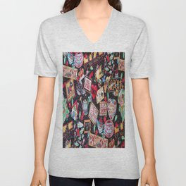 A PICTURE IS WORTH A 1000 WORDS Unisex V-Neck