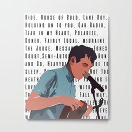 Tyler Joseph Songs Metal Print
