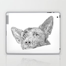 Mitzi takes it easy Laptop & iPad Skin