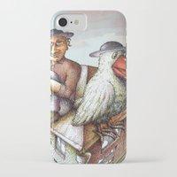 jewish iPhone & iPod Cases featuring Jewish Bird by Michael Zobak