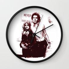 Sid and Nancy Wall Clock