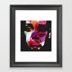 Sad Woman Framed Art Print
